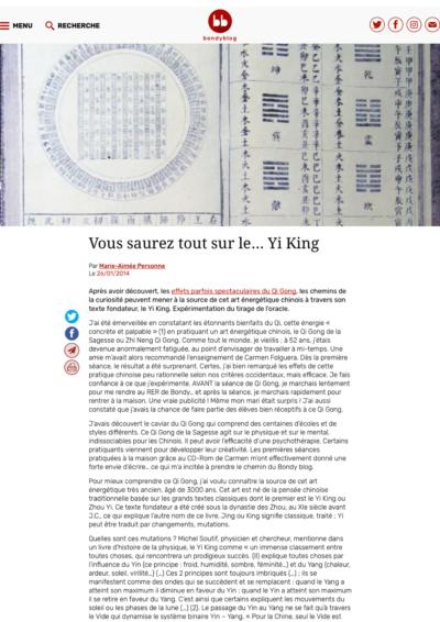 Bondy Blog - Vous saurez tout sur le… Yi King - Page 1